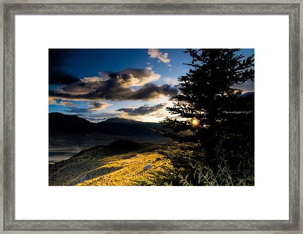 Above Gardiner Montana Framed Print by Patrick  Flynn