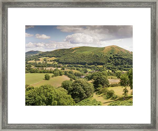 Above Little Stretton Framed Print by Richard Greswell