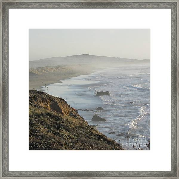 Looking Toward San Francisco Framed Print