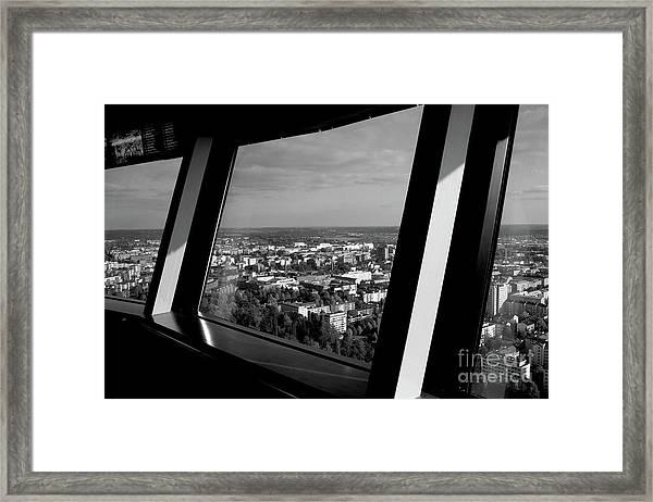 Above Framed Print by Tapio Koivula