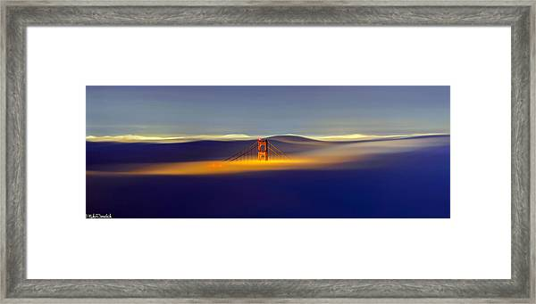 Above The Fog II Framed Print