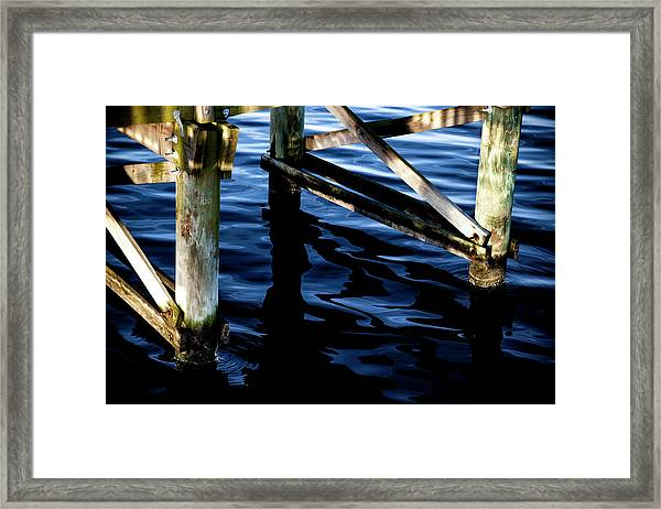 Above Water Framed Print
