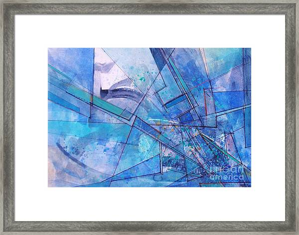 Abstract # 246 Framed Print