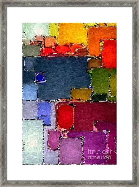 Abstract 005 Framed Print