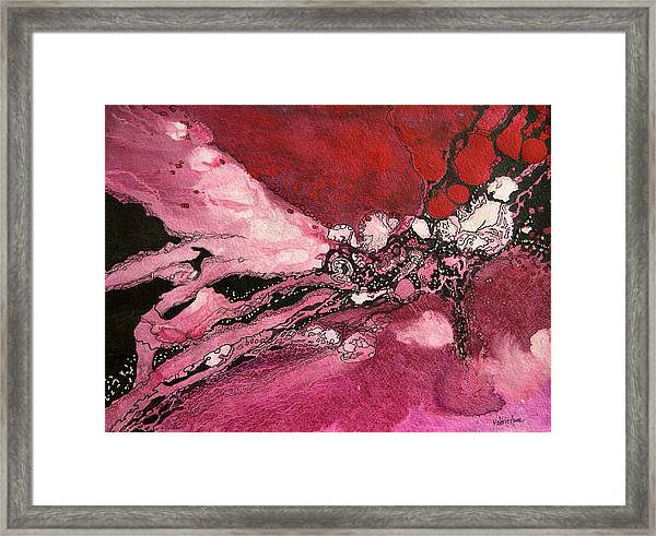 Abstract 10 Framed Print by Valerie Aune