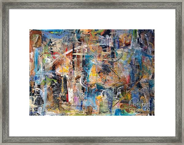 Abstract #101514 Framed Print