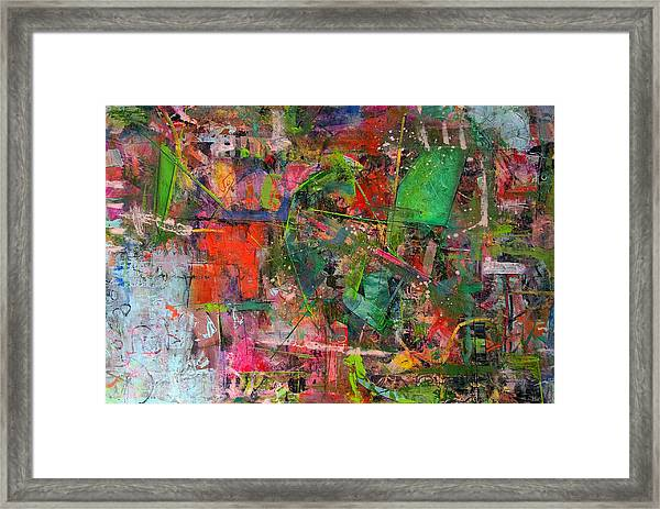 Abstract #101614 Framed Print