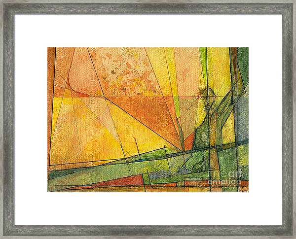 Abstract #11 Framed Print