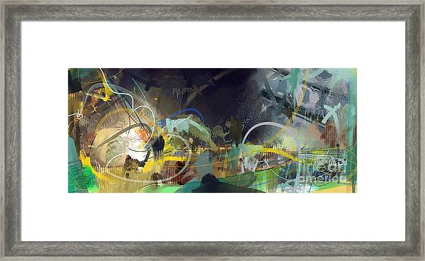 Abstract 11715 Framed Print