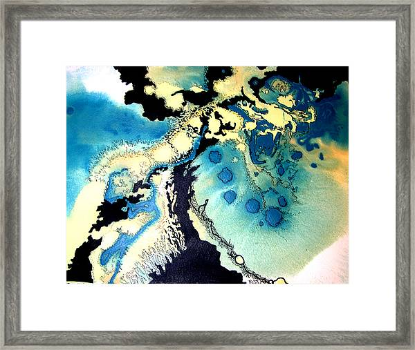 Abstract 14 Framed Print by Valerie Aune