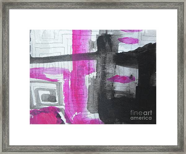 Abstract-15 Framed Print