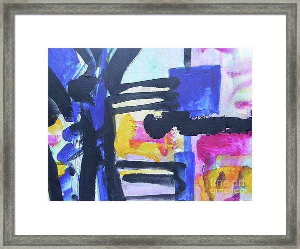 Abstract-16 Framed Print