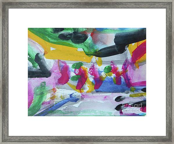Abstract-17 Framed Print