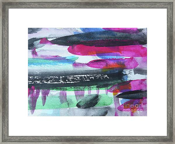 Abstract-19 Framed Print