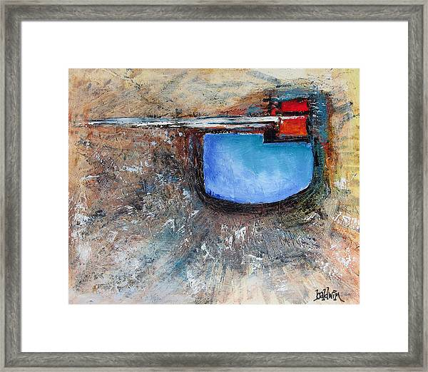 Abstract 200112 Framed Print