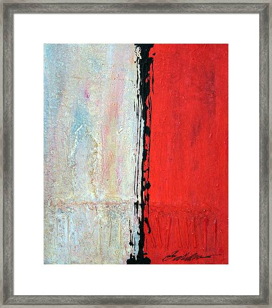 Abstract 200803 Framed Print