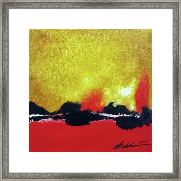 Abstract 201207 Framed Print