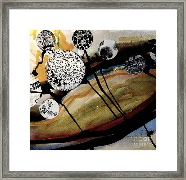 Abstract-23 Framed Print