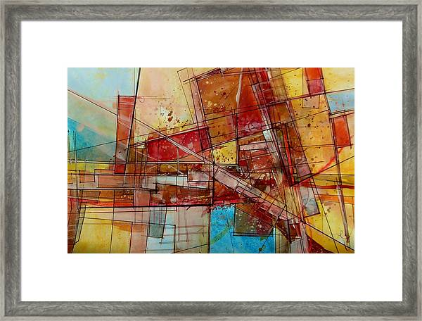 Abstract #240 Framed Print