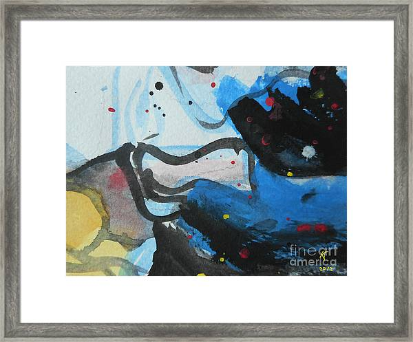 Abstract-26 Framed Print