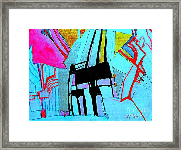 Abstract-28 Framed Print