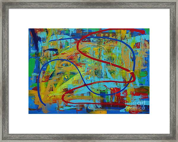 Abstract 2_untitled Framed Print