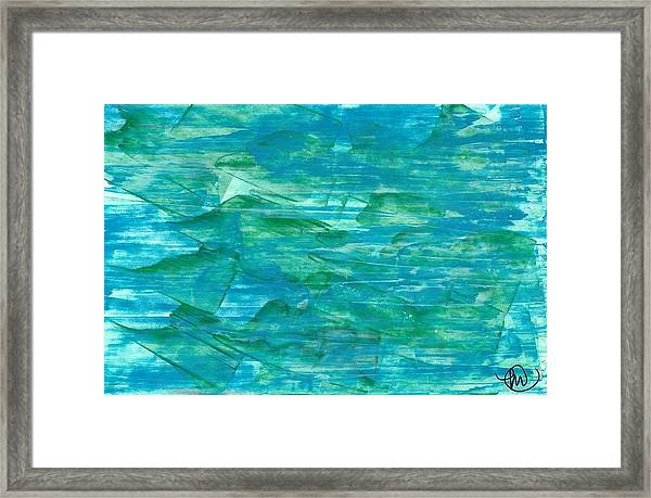 Take A Dip, Dear Framed Print