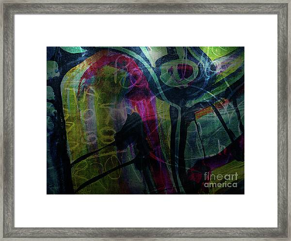 Abstract-30 Framed Print