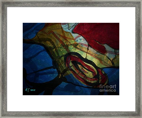 Abstract-31 Framed Print