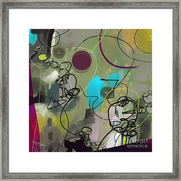 Abstract #31315 Framed Print