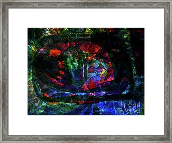 Abstract-34 Framed Print