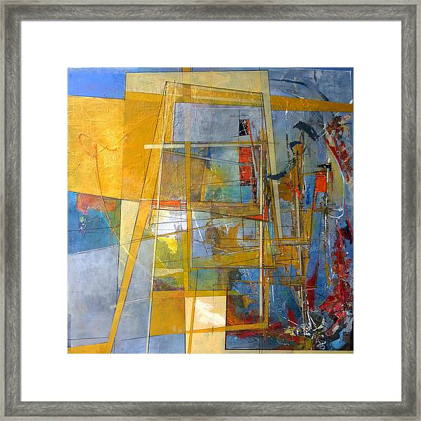 Abstract #38 Framed Print