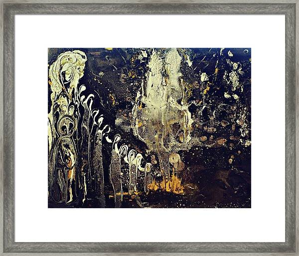 Into The Ether Framed Print