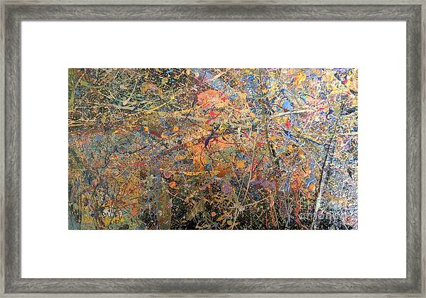 Abstract #416 Framed Print