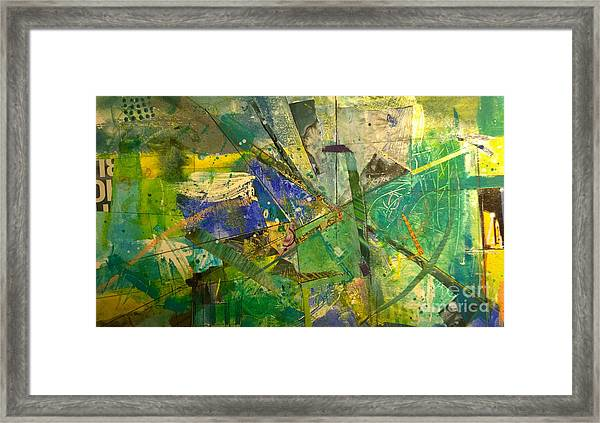 Abstract #41715 Framed Print