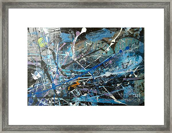 Abstract #419 Framed Print