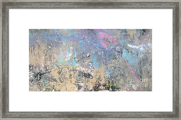 Abstract #42115a Framed Print