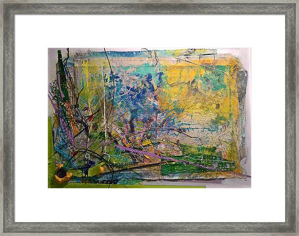 Abstract #42217 Framed Print