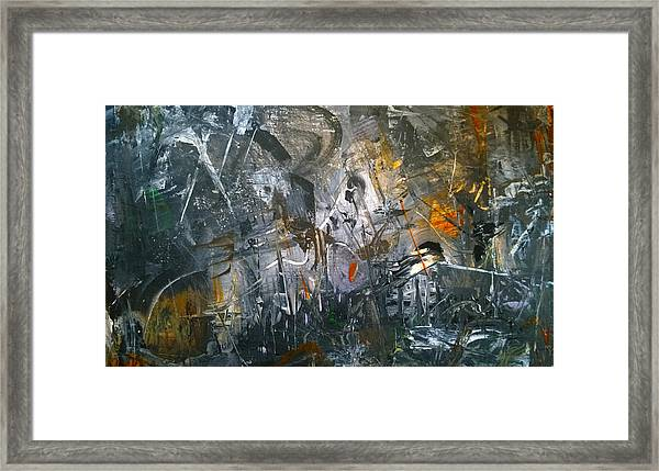 Abstract #42815 Framed Print