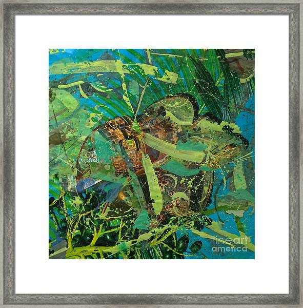 Abstract #493 Framed Print