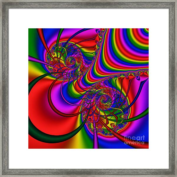 Abstract 511 Framed Print