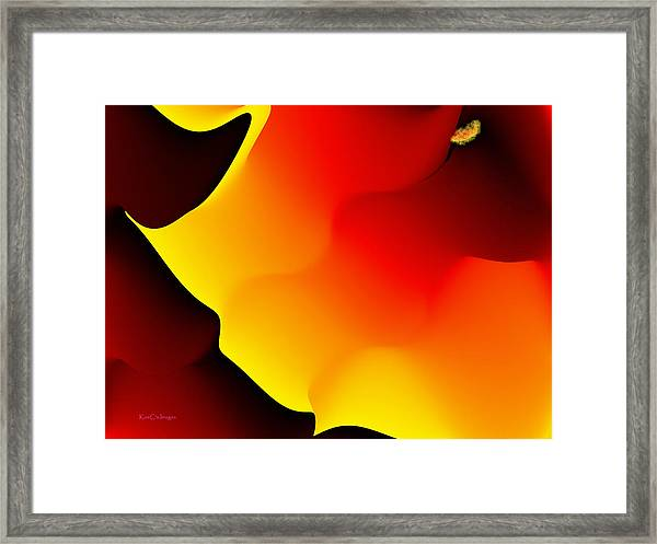 Abstract 515 8 Framed Print