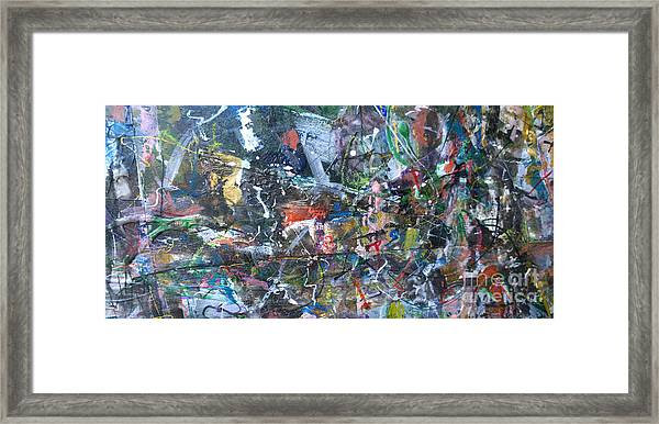 Abstract #69 - Revised Framed Print