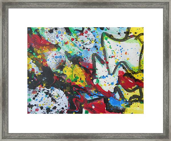Abstract-9 Framed Print