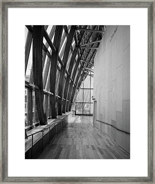 Abstract Architecture - Ago Toronto Framed Print