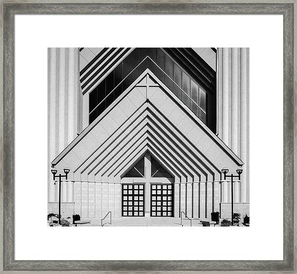 Abstract Architecture - Brampton Framed Print