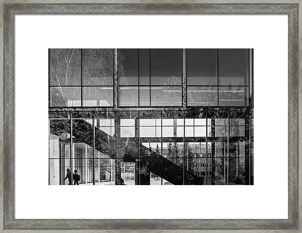 Abstract Architecture - Utm Mississauga Framed Print