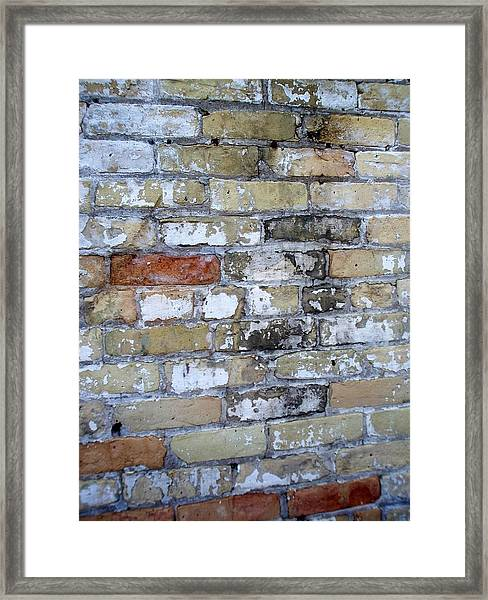 Abstract Brick 10 Framed Print