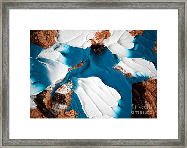 Abstract C010816 Framed Print