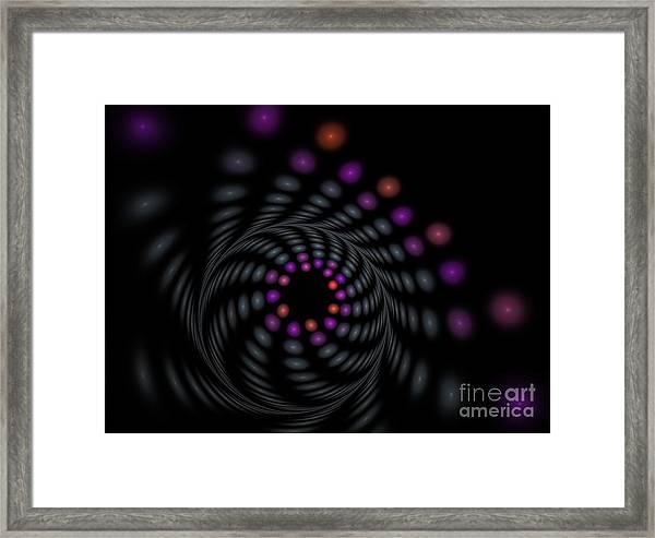 Abstract Carousel Framed Print